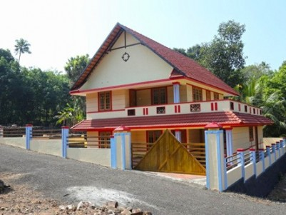 Finished American Style 2400 Sq Ft villa for sale at Pampady, Kottayam