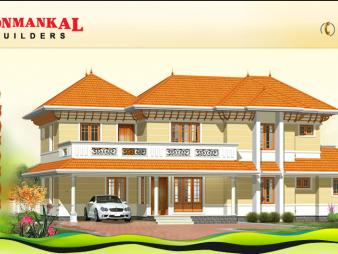 Ponmankal Builders: Flats, Villas, Appartments at Kottayam, Ettumanoor, Carithas