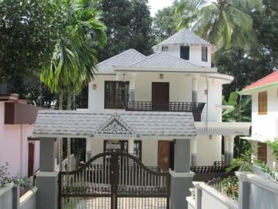 Artistically built new beautiful house for sale at Kattanam, Alappuzha.