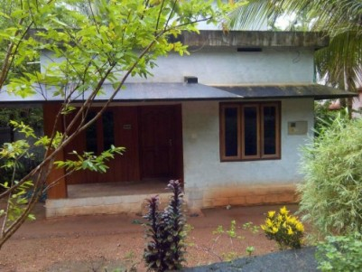 12 Cents of land with 2 BHK house for sale  at Wandoor,Malappuram.