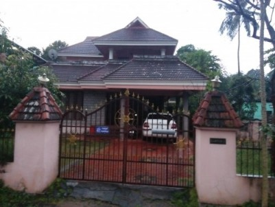 6 Cents of land with 1800 Sqft  3 BHK House for Sale at Pullazhy,Thrissur.