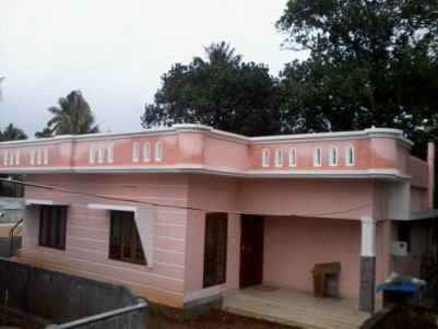 1200 Sq ft 3 BHK Fully furnished House  for sale at Kallettumkara,Thrissur.