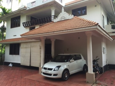 13 cent& 2floor 2300sqft house for sale at triprayar- thrissur highway