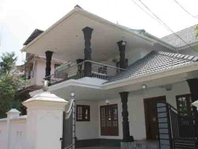 2500 Sq.ft 4 BHK Villa on 6.10 Cent land for sale at Kureekkad,Thrippunithura,Ernakulam.