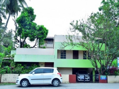 Corner residential house in Palakkad town is up for sale