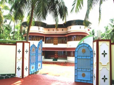 4112 Sqft New House on 77 Cents of land for sale at Ottapalam, Palakkad.
