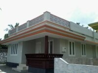 750 Sq ft 2 BHK beautiful House  for sale at Pookode ,Thrissur.