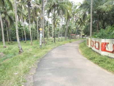 1 Acre Residential Land for sale Near NH 17 on East Tippu Sultan Road,Engandiyur , Thrissur.