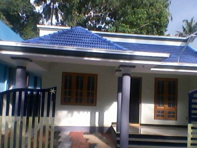 1200 Sq.ft 3 BHK New House on 5.5 Cent land for sale at Thazhuthala,Kollam.
