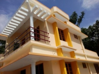 1200 Sqft  3 BHK House on 4 cents of land for sale at Amballur,Ernakulam District.