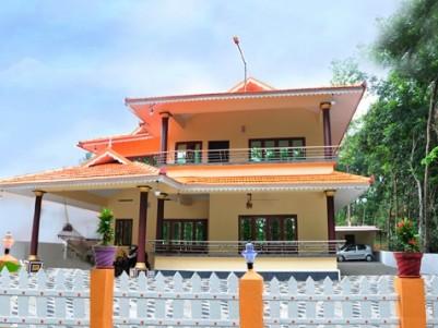 2900 Sq.ft 4 BHK Villa for sale at Uzhavoor, Kottayam.