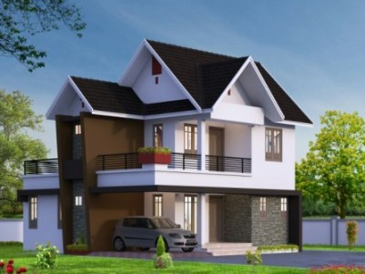 Villas for sale at Kudamaloor, Kottayam for Rs. 65 lakhs