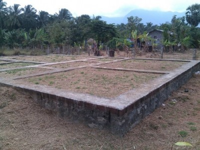9 cent land with foundation in Kollengode, Palakkad