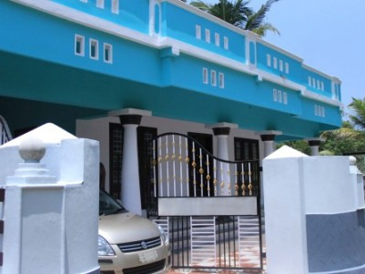 1700 Sqft 3 BHK House on 7 Cents of Land for Sale Near Cheppad,Kayamkulam,Alappuzha District.
