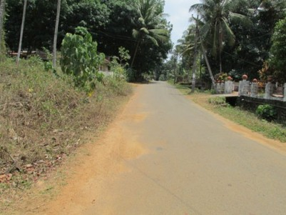 15 Cents house plot for sale at Pala, Location-Kadanad,  Kottayam.
