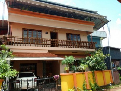 Beautiful House and Three Story Shopping Complex at the heart of Kodakara,Thrissur.