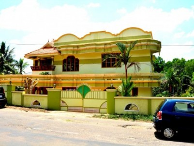 2400 Sqft 4 BHK House for sale at  Peyad, Trivandrum .