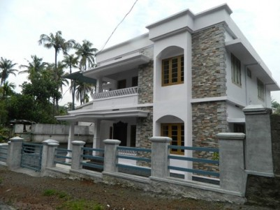 2250 Sqft 4 BHK Villa on 5.25 Cents of land for sale at Koratty,Thrissur.