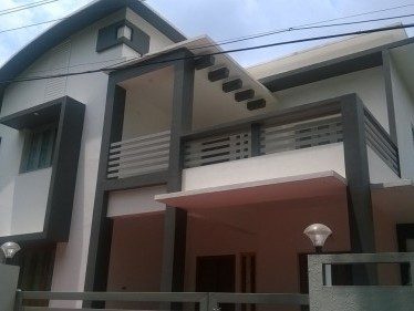 2450 Sqft 4 BHK new house for sale at Chiyyaram,Thrissur.