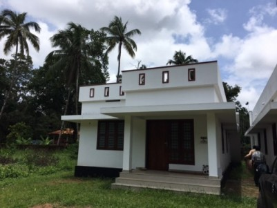 1000 Sqft 2 BHK  House  for sale at Kunnamkulam,Thrissur.