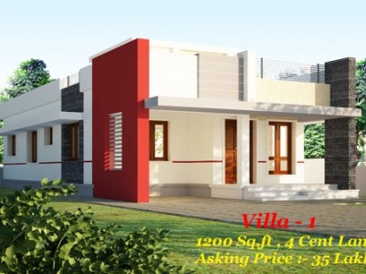 2 Houses for sale at Kodunthirapully, Palakkad.