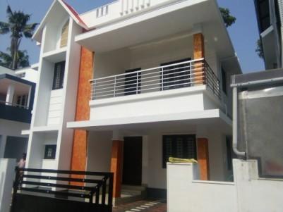 1700 sqft New House on 4 Cents of land for sale at kunjattukara Aluva