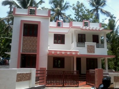 1700 Sq ft 3 BHK beautiful Villa with 5 cents of land for sale at Adat ,Thrissur