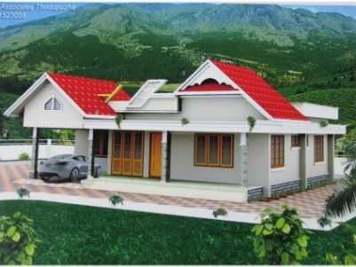 1600 Sqft 3 BHK Villa for sale at Thodupuzha,Idukki.