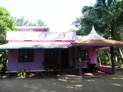 1300 Sqft 3 BHK House on 15 Cents of Land for sale at Pookodu,Amballur,Ernakulam District.