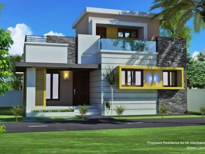 1350 Sq.ft  2 BHK  New House on 5.5 cents of land for sale at Mattumantha,Palakkad.