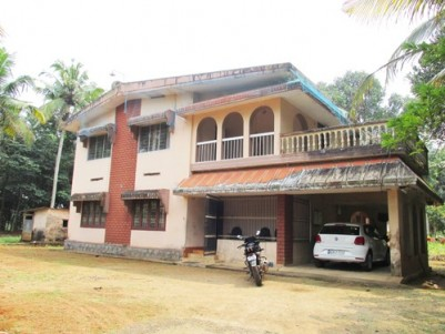 90 Cent Land with 3000 Sq.ft House for sale at Thumpamon North,Pathanamthitta.
