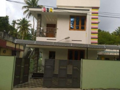 1400 Sq.ft 3 BHK House on 3.5 Cent land for sale at Thattamala,Kollam.