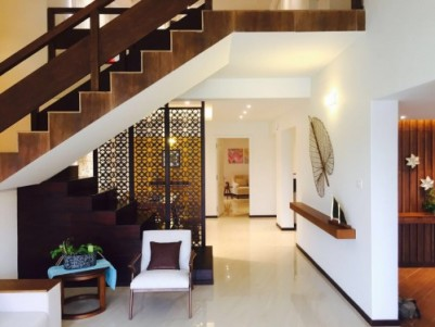 Scenic Villa (Fully Furnished, Riverfront) for sale near Aluva, Ernakulam