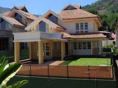 Water Frontage  premium luxury furnished villas for sale at Muttom,Idukki