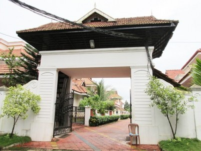 2450 Sq.ft 4 BHK Gated Colony Villa for sale at Aluva, Ernakulam