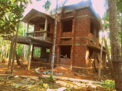 1400 sq ft ,4bhk structured house ,in between palath and kakkodi.