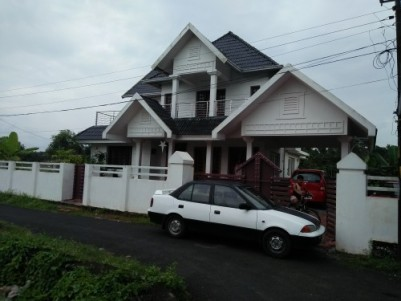 3000 Sqft 4 BHK Posh House for sale at Chembukavu,Thrissur.