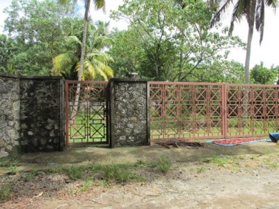 4 Acres wide area water front land for sale at Cherthala,Alappuzha.