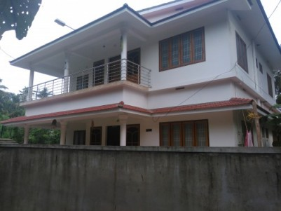 8 Cents of land with 2500 Sqft 5 BHK House for sale at Azhikode,Kannur.