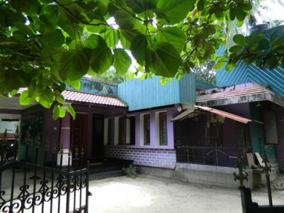 1800 Sqft 3 BHK House with 19 Cents of Land for sale at Guruvayur,Thrissur.