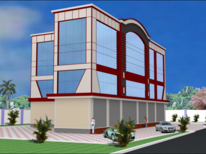 Showroom 3500 Sq Ft suitable for bank & automobile showroom