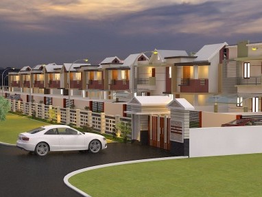 3 BHK Gated Community Villa for Sale at Palakkad