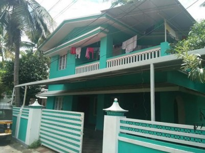 1600 Sqft  House on 5 Cents of land for sale at Ayyanthole,Thrissur.