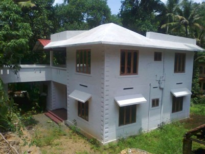 2200 Sqft 3 BHK New House on 20 Cents of Land for sale at Mallappally,Pathanamthitta.
