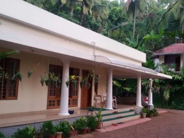 3.15 Acre Agricultural Land with 2200 Sq.ft House for sale at Kanhangad, Kasaragod or Exchange with