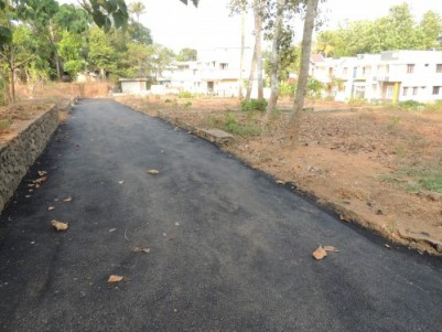 5 CENT RESIDENTIAL PLOT IN GATED COLONY FOR SALE AT PUKKATTUPADY,ERNAKULAM.