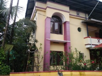 5.5 Cents of land with 2000 Sqft  House for Sale at Pullazhy,Thrissur.
