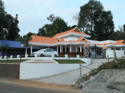 Fully Furnished Posh House for sale in the heart of Bharananganam, Kottayam.