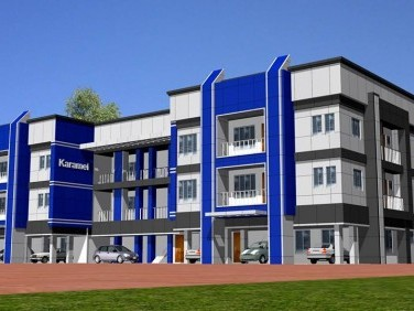 Karamel Apartment 2 Bed room flats for sale in Pallimukku, Kollam