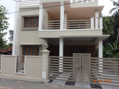 2750 Sqft 4 BHK Luxury Villa on 7.5 Cents of land for sale at Kuriachira,Thrissur.